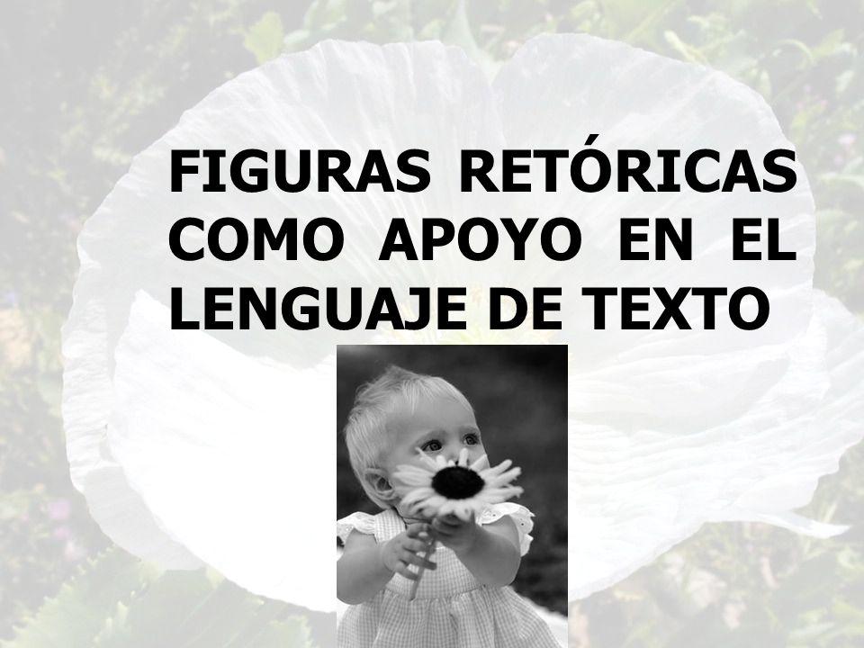 FIGURAS RETÓRICAS COMO APOYO EN EL LENGUAJE DE TEXTO