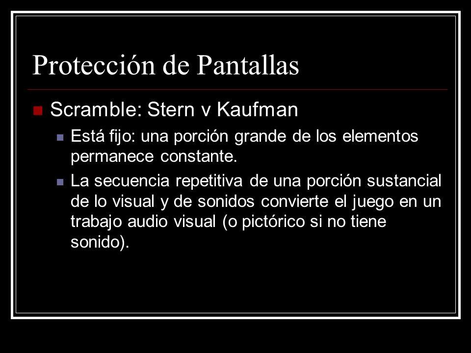 Protección de Pantallas