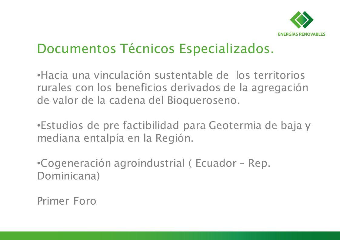 Documentos Técnicos Especializados.