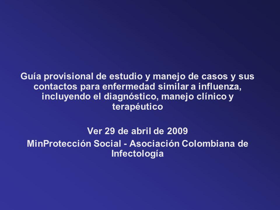 MinProtección Social - Asociación Colombiana de Infectología