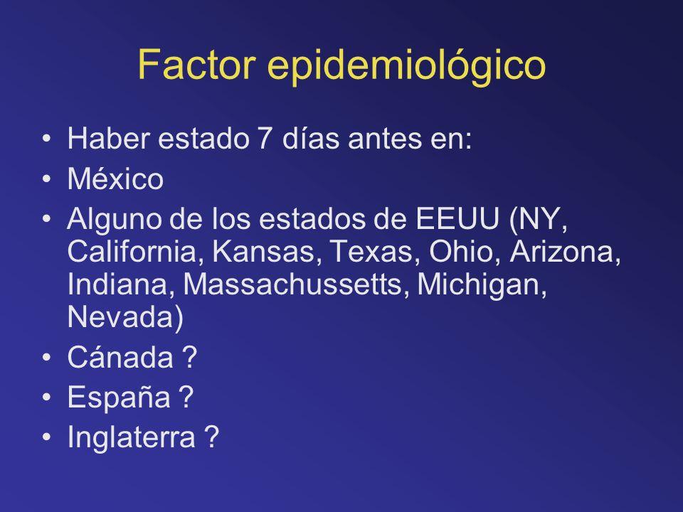 Factor epidemiológico