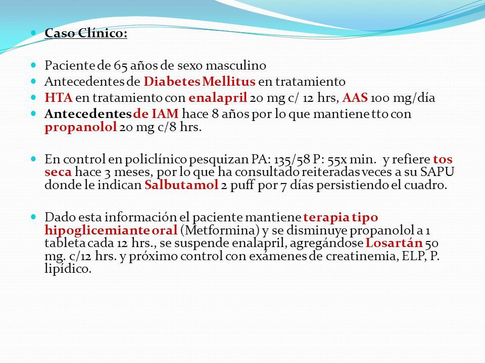 Caso Clínico Farmacología - ppt video online descargar