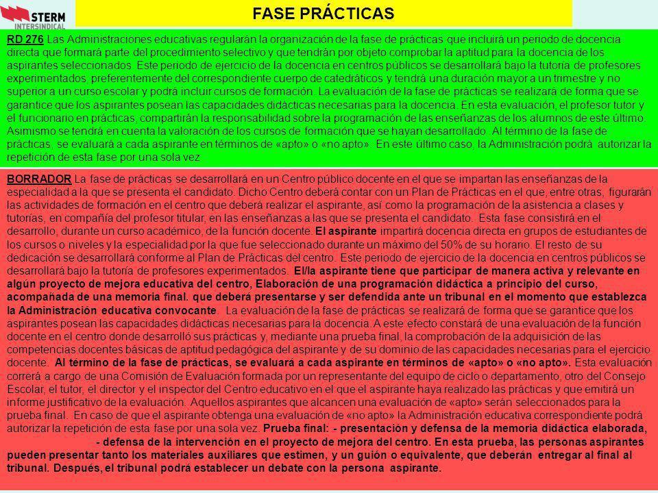 FASE PRÁCTICAS