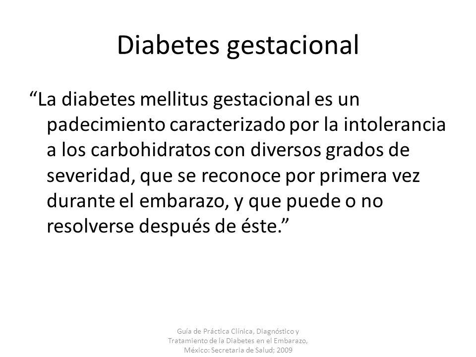 Diabetes Gestacional. - ppt descargar