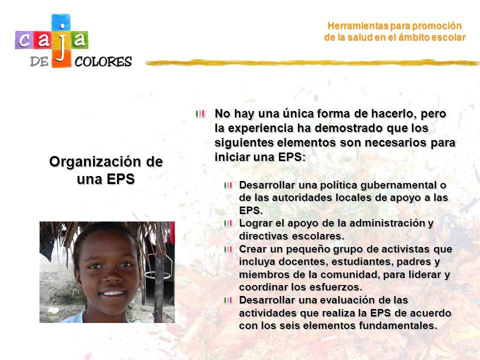 Organización de una EPS