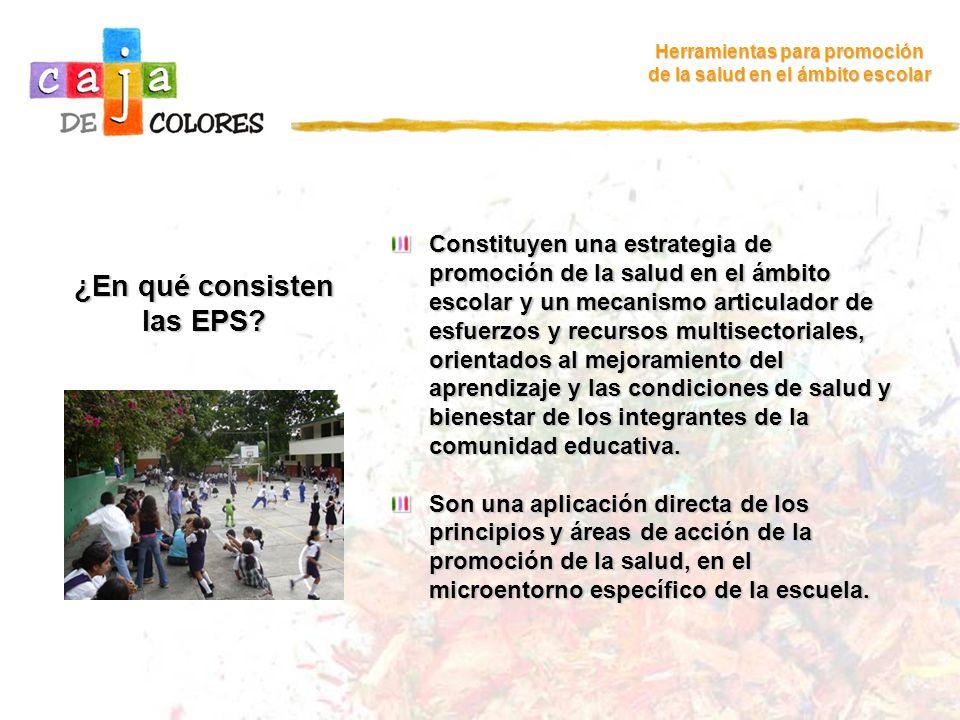 ¿En qué consisten las EPS