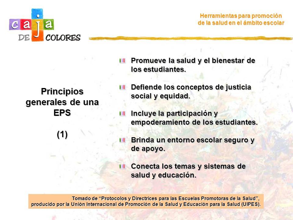 Principios generales de una EPS (1)
