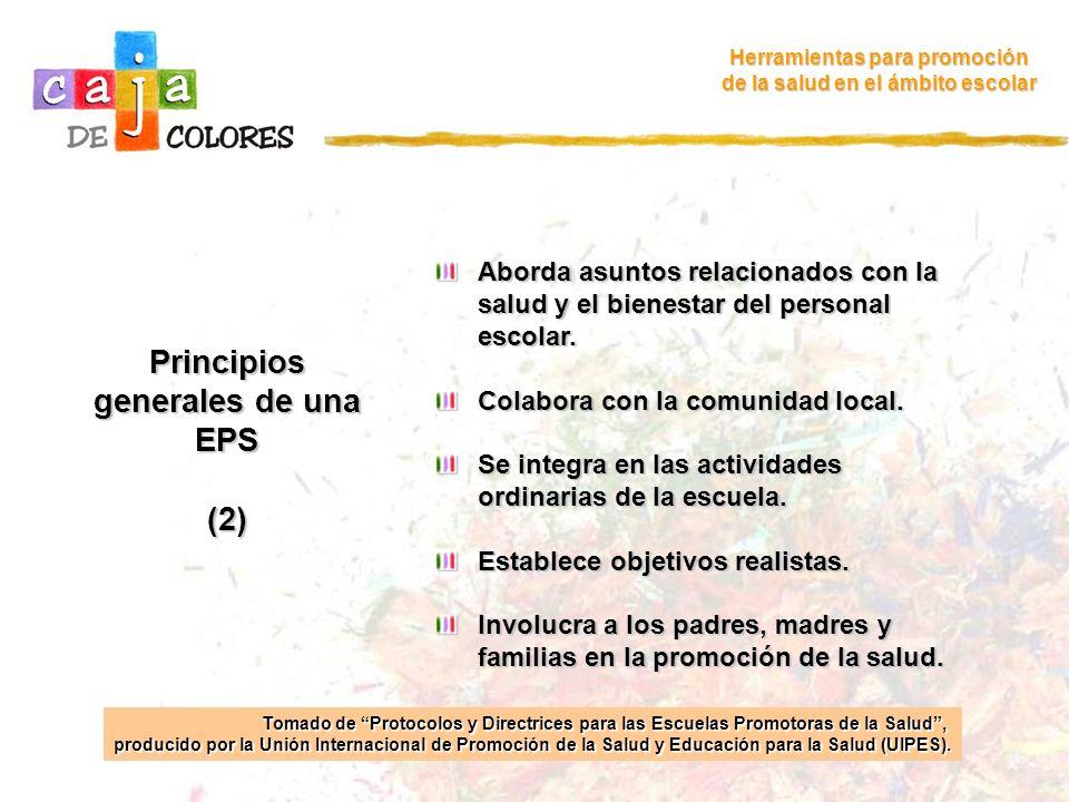 Principios generales de una EPS (2)