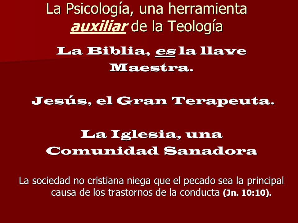 La Psicología, una herramienta auxiliar de la Teología