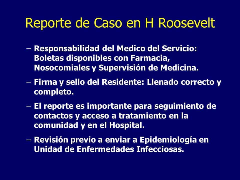 Reporte de Caso en H Roosevelt