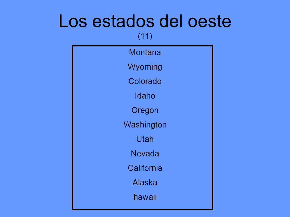 Los estados del oeste (11)