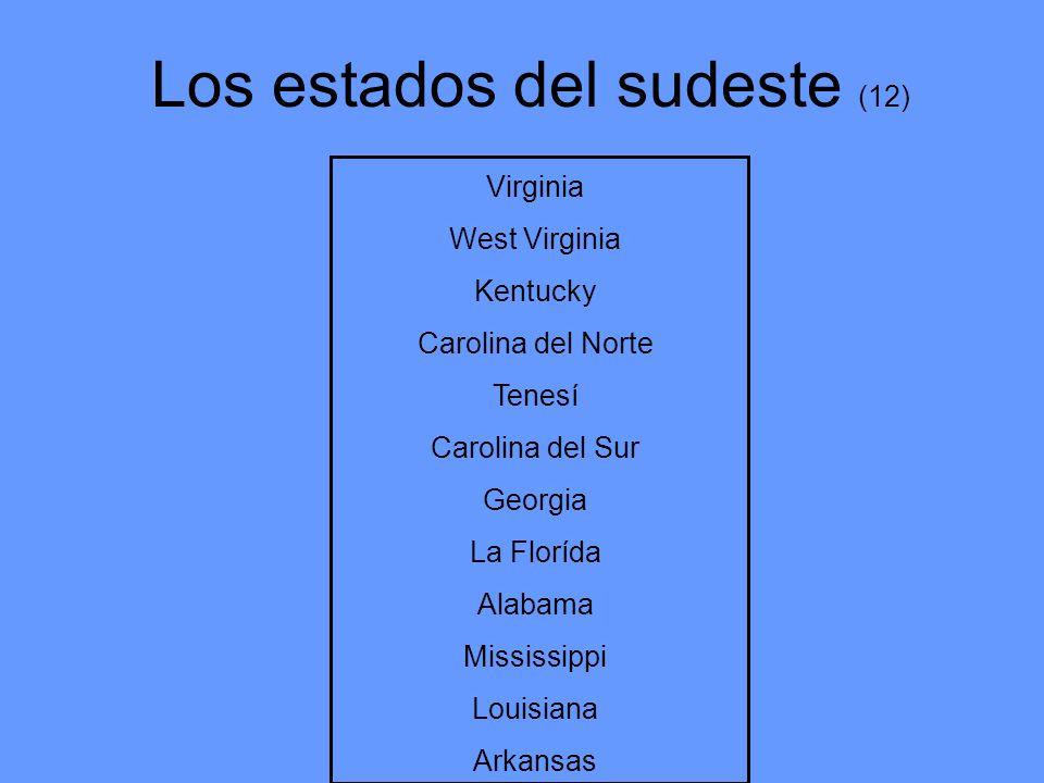 Los estados del sudeste (12)