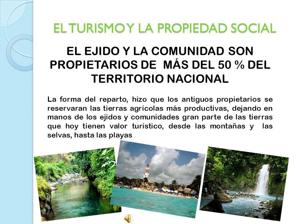 EL TURISMO Y LA PROPIEDAD SOCIAL