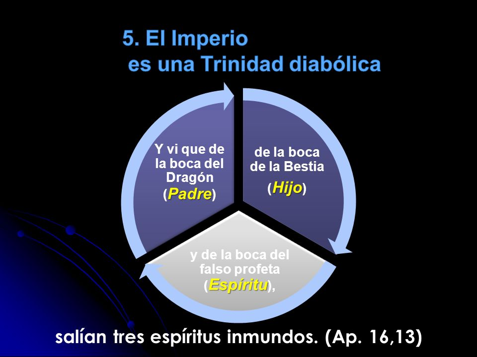 5. El Imperio es una Trinidad diabólica