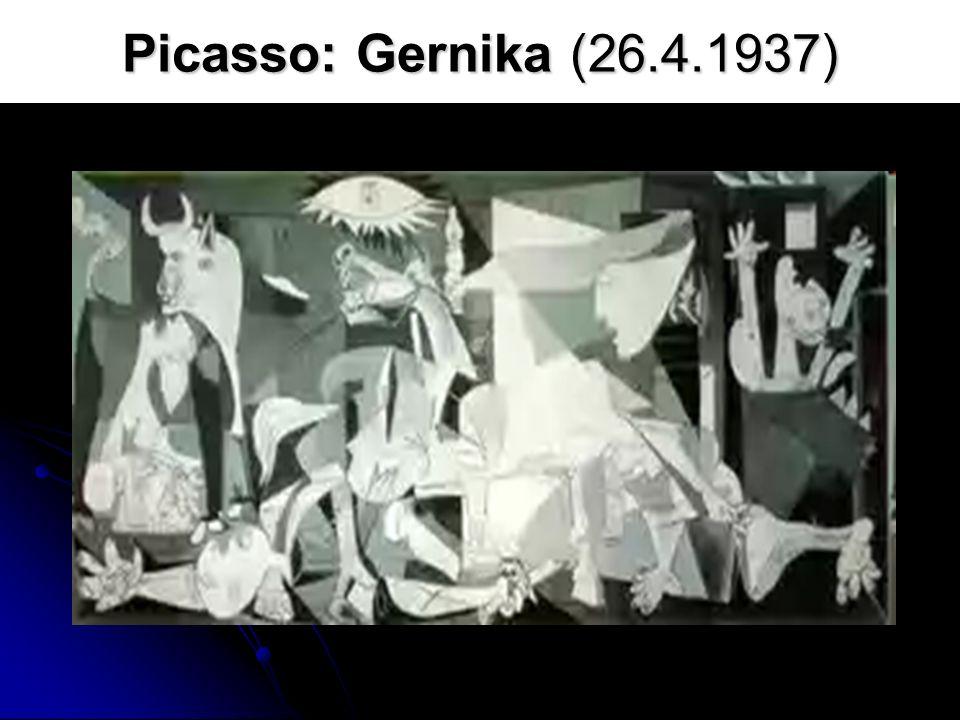 Picasso: Gernika (26.4.1937)