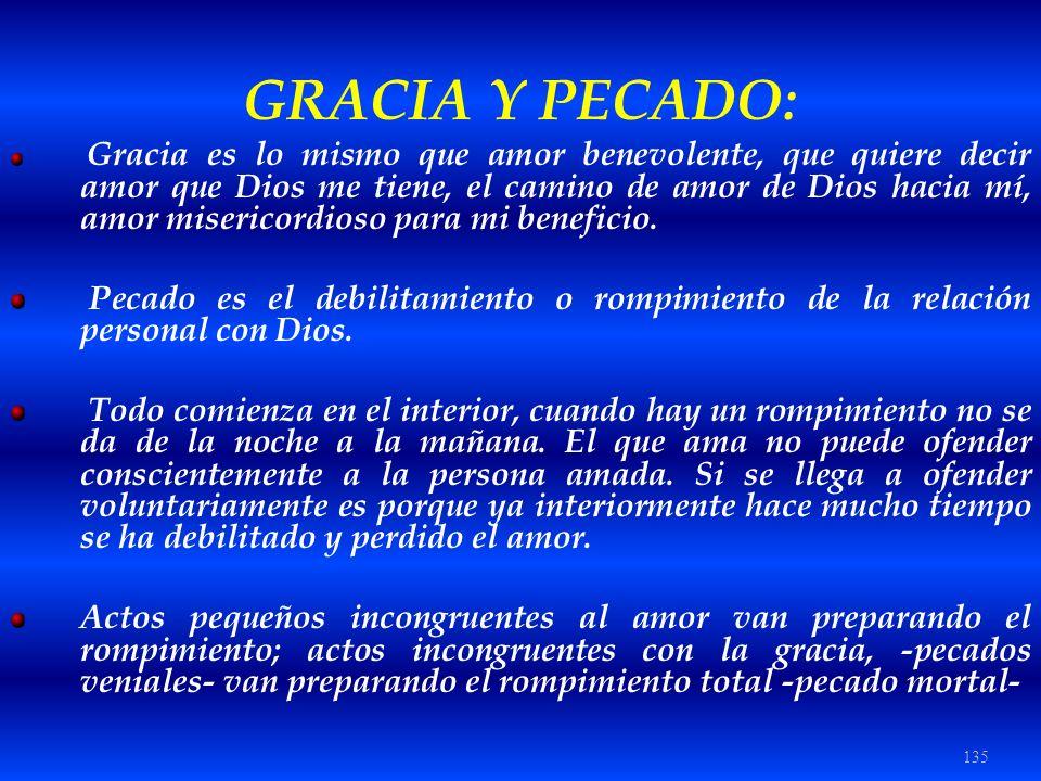 GRACIA Y PECADO:
