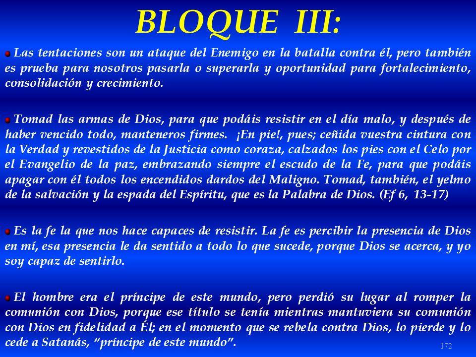 BLOQUE III:
