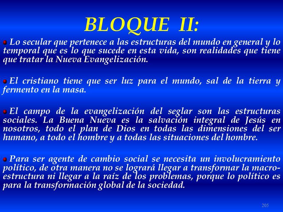 BLOQUE II:
