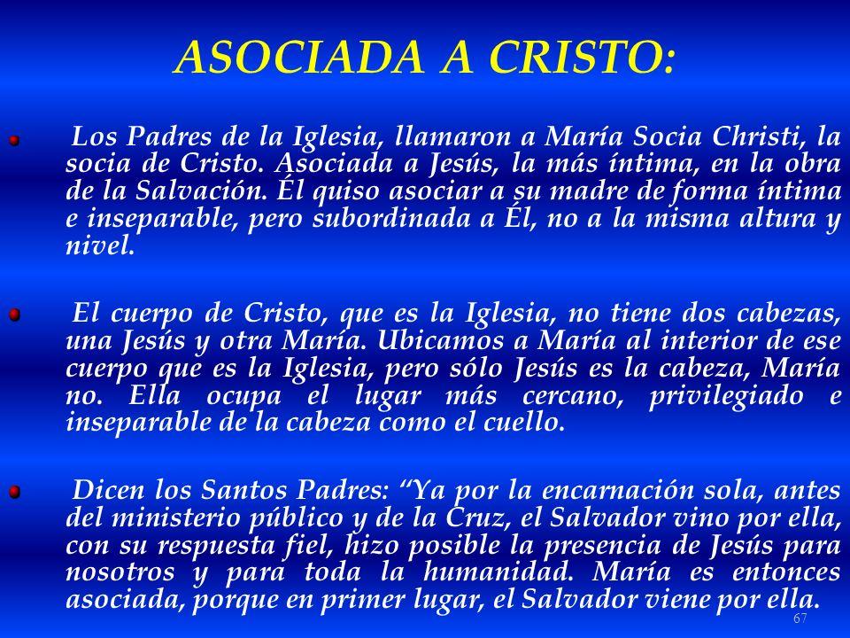 ASOCIADA A CRISTO: