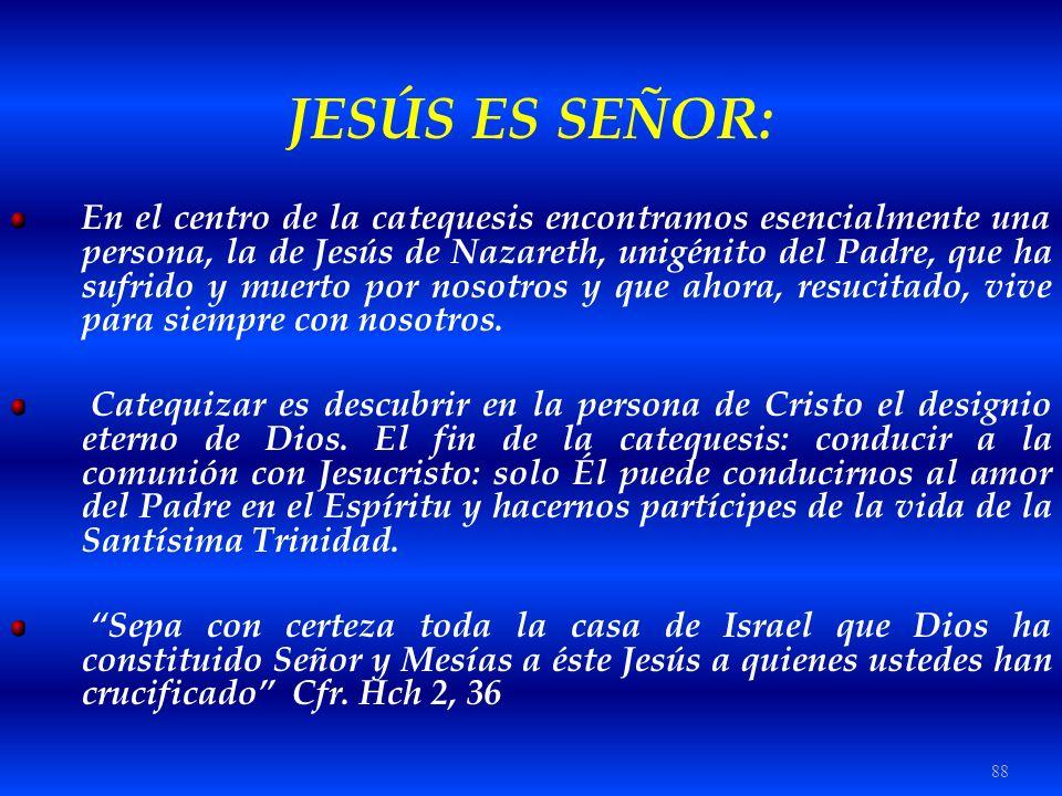 JESÚS ES SEÑOR: