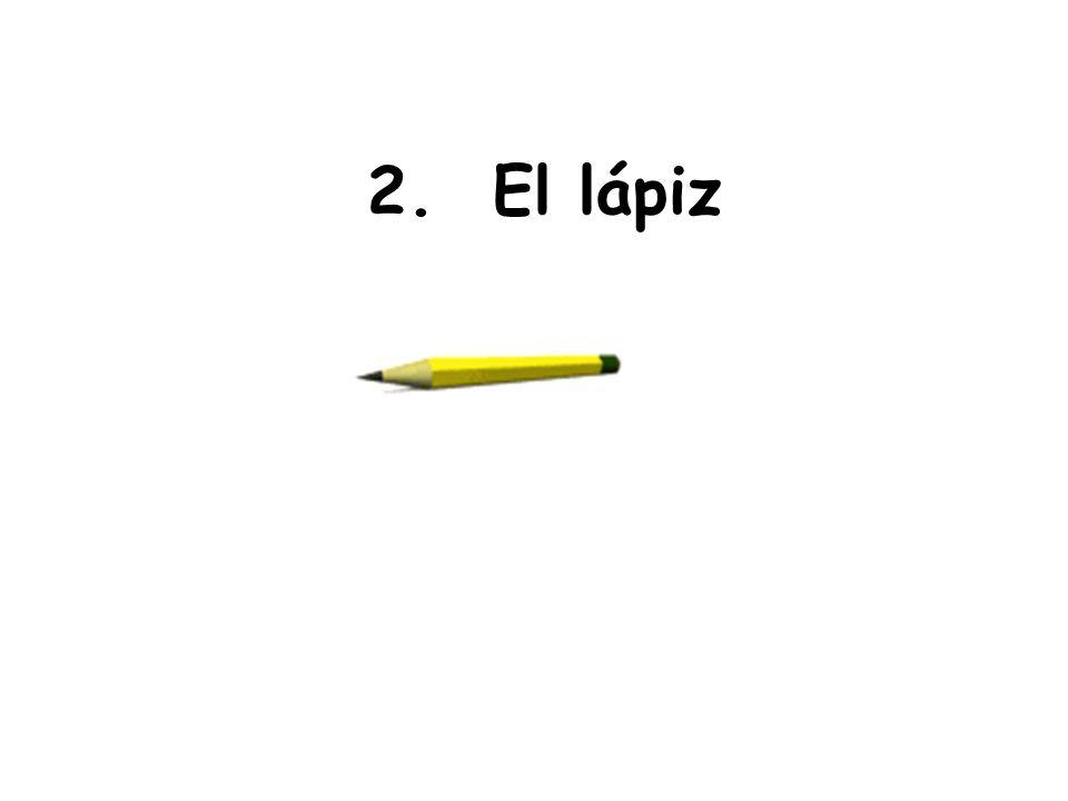 2. El lápiz