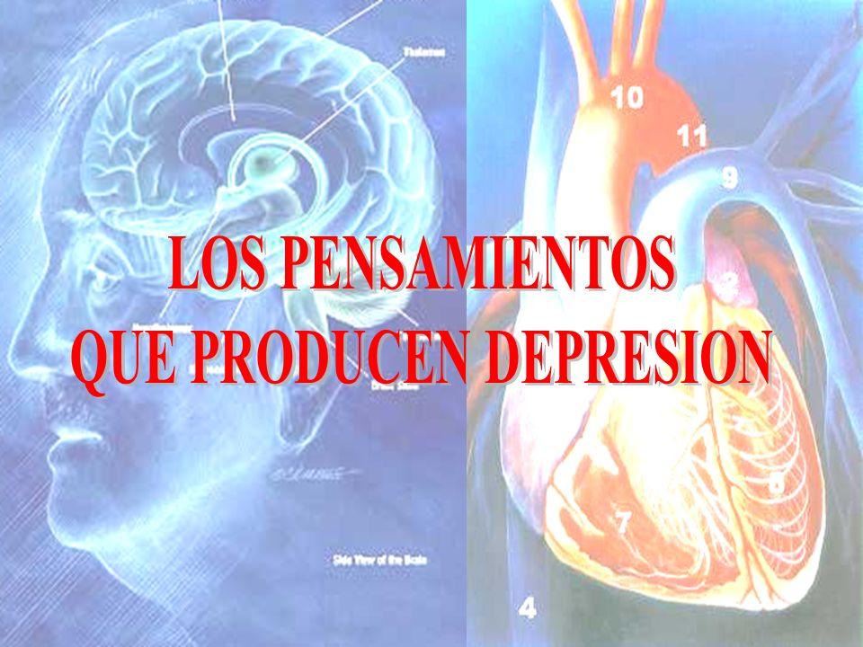 QUE PRODUCEN DEPRESION
