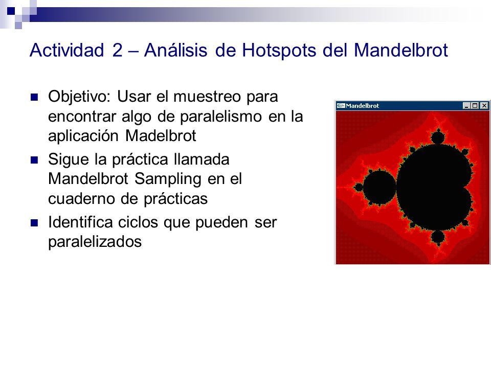 Actividad 2 – Análisis de Hotspots del Mandelbrot
