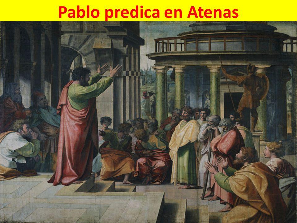 Pablo predica en Atenas