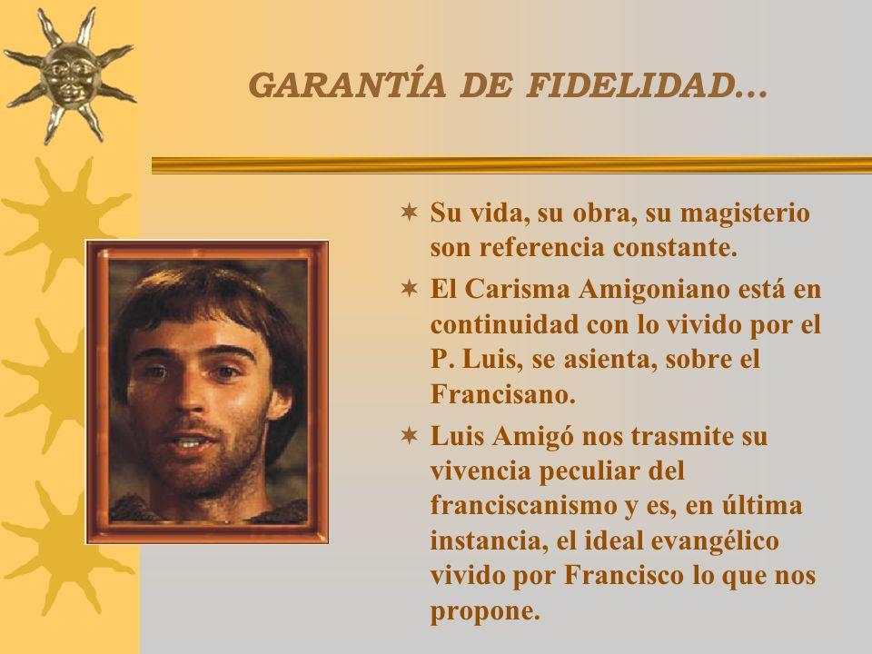 GARANTÍA DE FIDELIDAD…