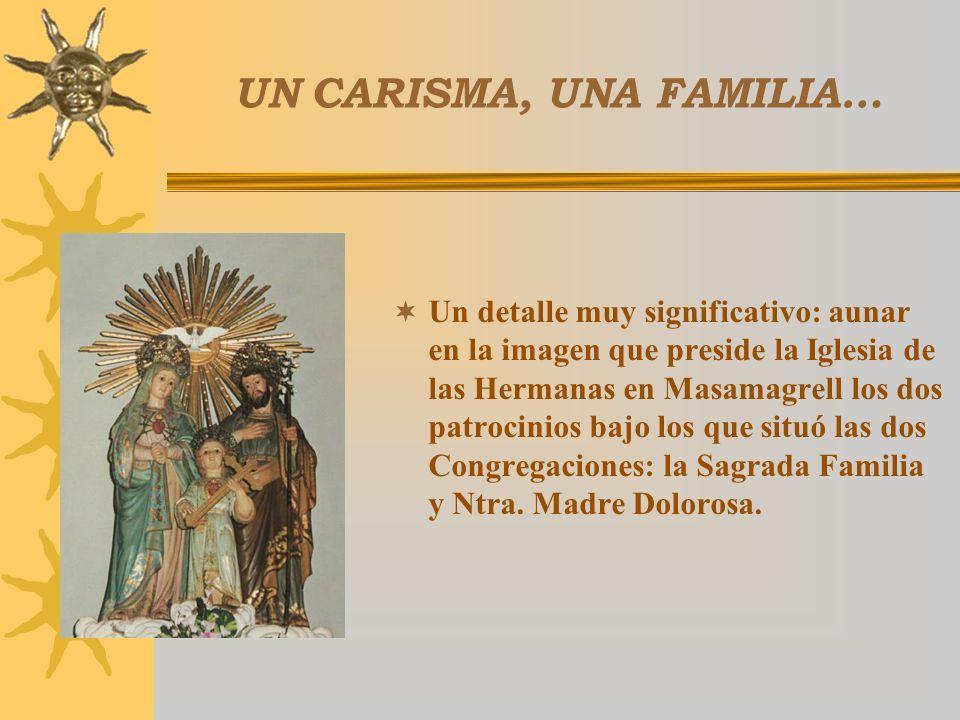 UN CARISMA, UNA FAMILIA…