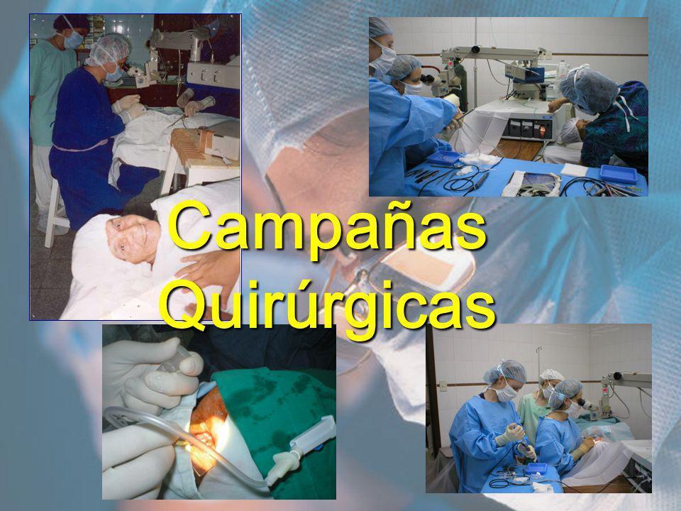 Campañas Quirúrgicas
