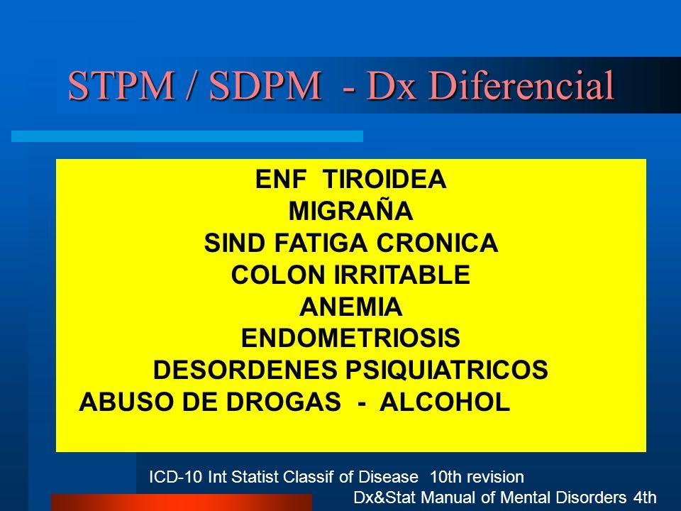 STPM / SDPM - Dx Diferencial
