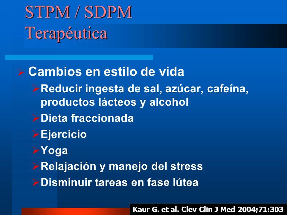STPM / SDPM Terapéutica
