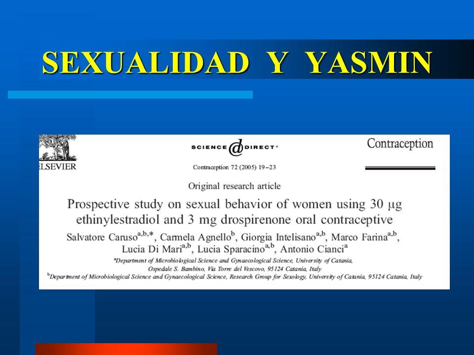 SEXUALIDAD Y YASMIN