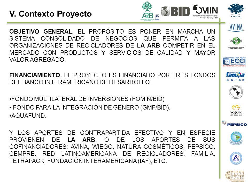 V. Contexto Proyecto