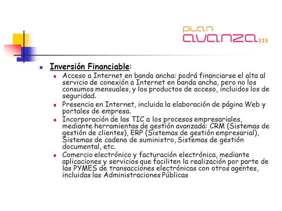 Inversión Financiable: