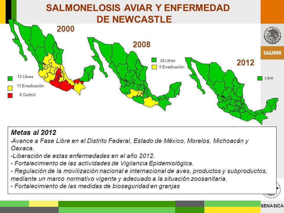 SALMONELOSIS AVIAR Y ENFERMEDAD DE NEWCASTLE