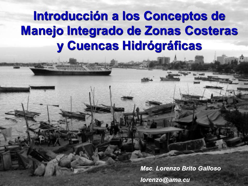 Introducción a los Conceptos de Manejo Integrado de Zonas Costeras y Cuencas Hidrógráficas