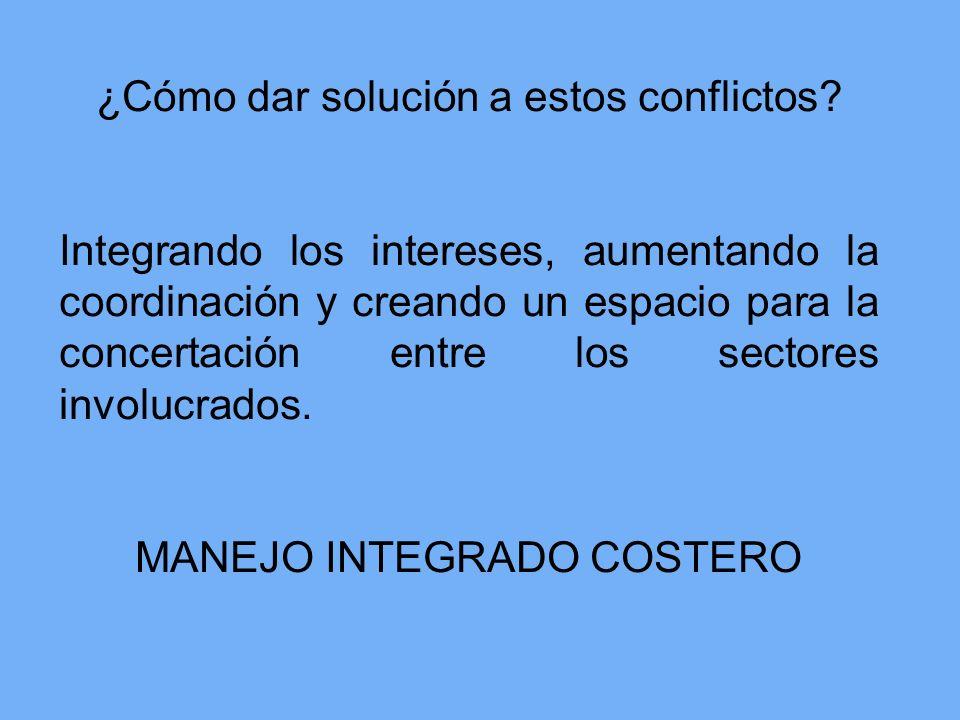 ¿Cómo dar solución a estos conflictos