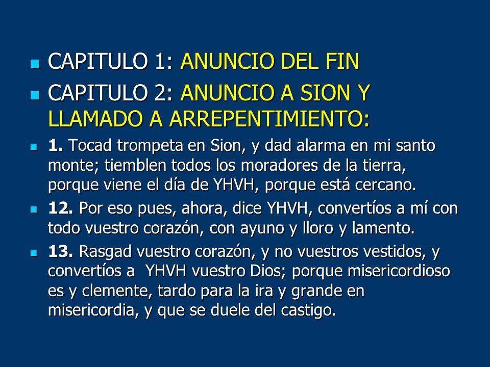 CAPITULO 1: ANUNCIO DEL FIN