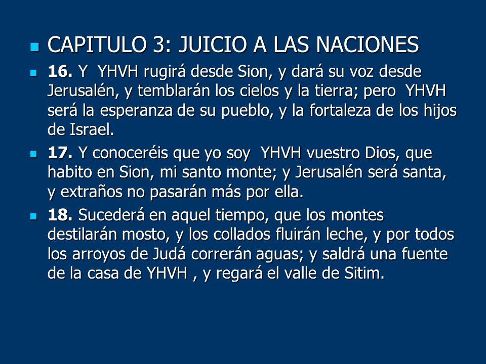 CAPITULO 3: JUICIO A LAS NACIONES