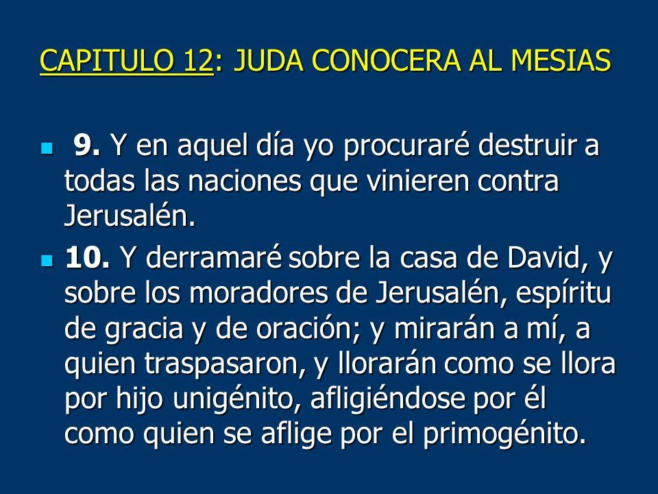CAPITULO 12: JUDA CONOCERA AL MESIAS