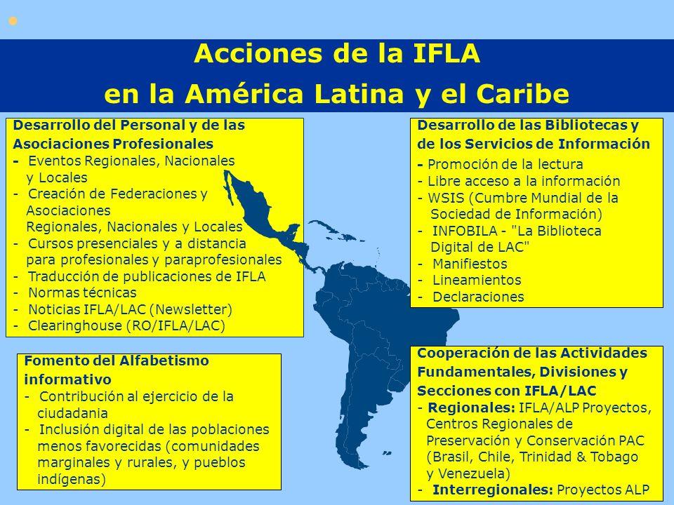 en la América Latina y el Caribe