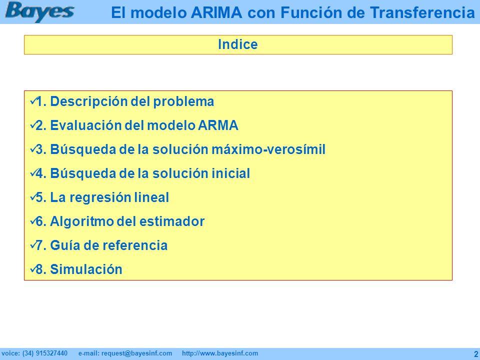 El modelo ARIMA con Función de Transferencia