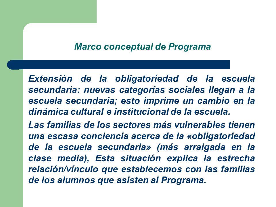 Marco conceptual de Programa