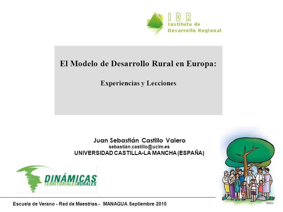 El Modelo de Desarrollo Rural en Europa: