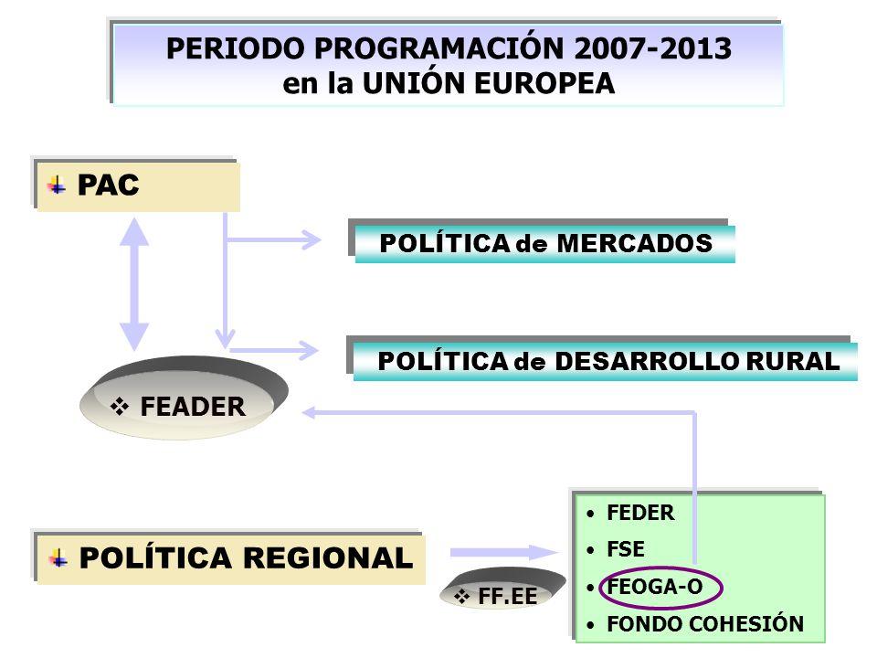 PERIODO PROGRAMACIÓN 2007-2013
