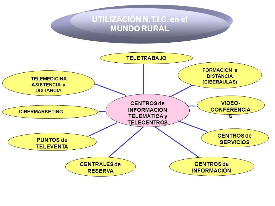 UTILIZACIÓN N.T.I.C. en el MUNDO RURAL