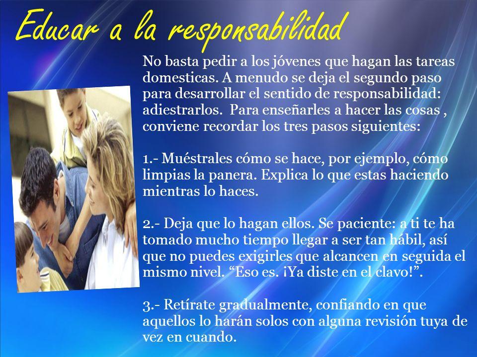 Educar a la responsabilidad