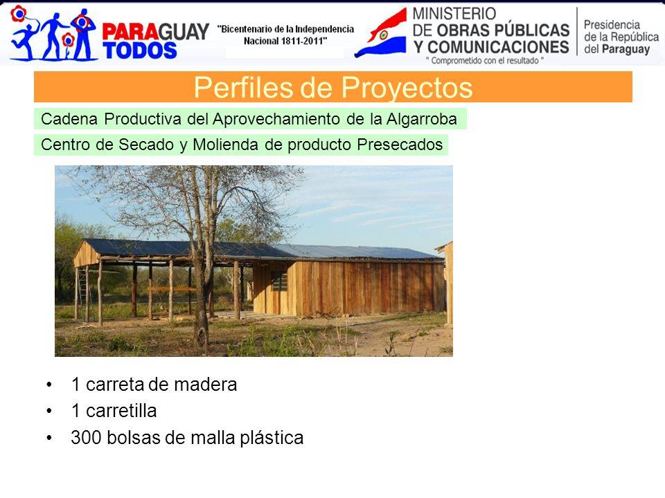 Perfiles de Proyectos 1 carreta de madera 1 carretilla